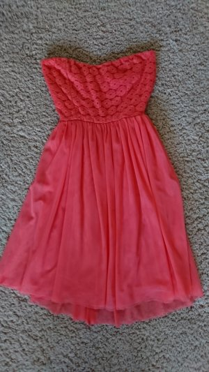 Only Petticoat Dress bright red