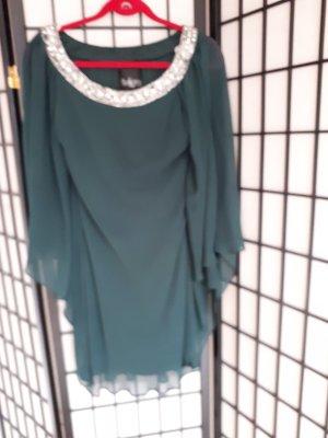 Vestido de lentejuelas verde bosque