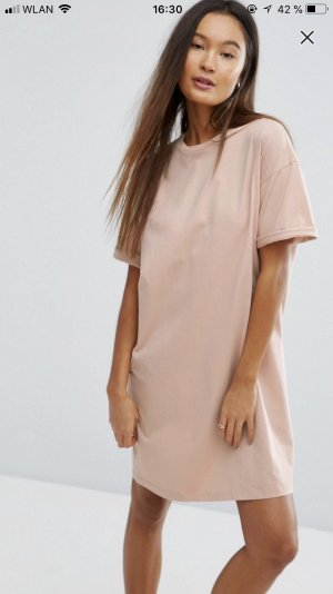 Asos Shortsleeve Dress nude