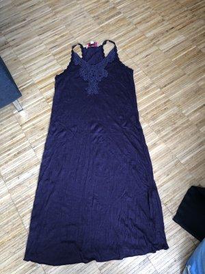 Tube Dress brown violet