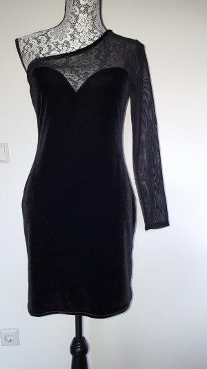 Miss Selfridge Off-The-Shoulder Dress black