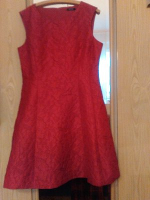 Orsay Cocktail Dress brick red