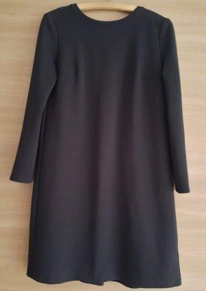 Kleid A-Linie Babydoll Schwarz Gr. M