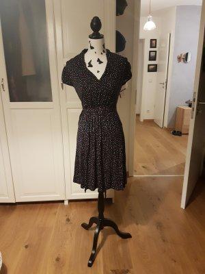 Kleid A-Linie Dunkelblau Größe 36