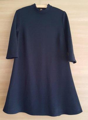 Kleid A-Linie Gr. 42 Schwarz 3/4 Arm #293