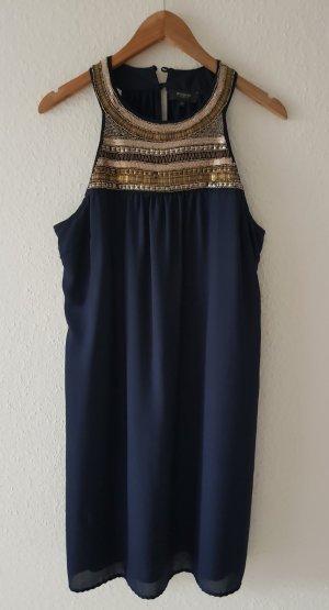Kleid A-Linie Manguun Blau Gr. 44