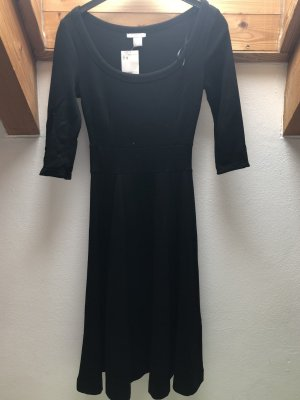 Kleid A-Linie schwarz NEU