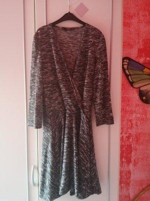 Mango Wollen jurk antraciet