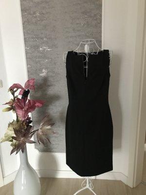 Falda estilo lápiz negro Licra
