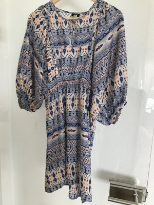 H&M Robe Hippie multicolore polyester