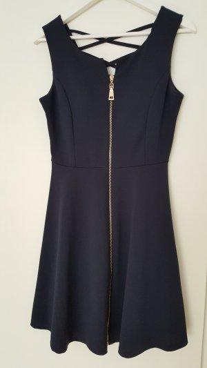 Apricot Mini Dress dark blue