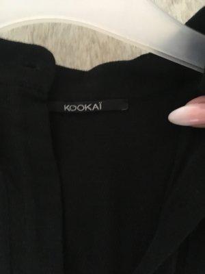 Kookai Vestido a media pierna negro-azul oscuro