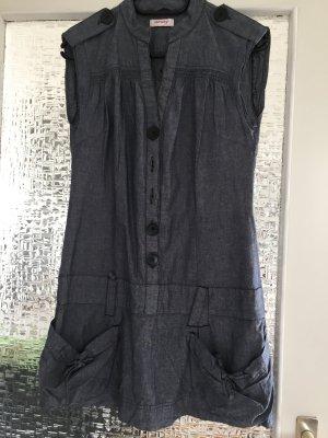 Orsay Denim Dress slate-gray cotton