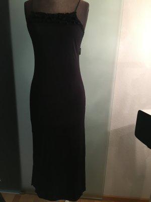 Kleid Abend Long Gr 36 38 S Tally Weijl mit Rüschen