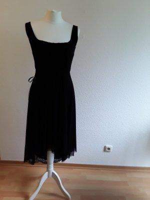 Kleid, Abendkleid, Cocktailkleid, Partykleid, Tüll, schwarz, S