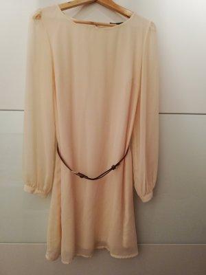 Kleid Abendkleid Cremefarben