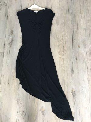 Kookai Vestido de noche negro Viscosa