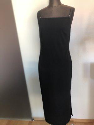 Kleid Abendkleid Maxikleid Gr 38 40 M schwarz