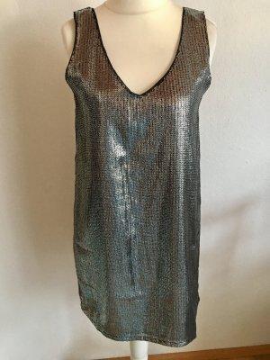 Kleid Abendkleid Partykleid silber Pailetten NEU mit Etikett Gr. 38