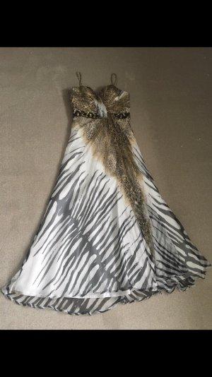 Kleid Abendkleid reine Seide Gr, 40  wie neu