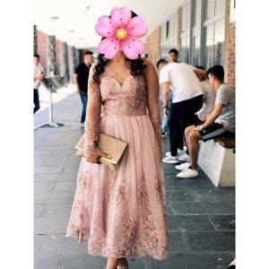 Chi Chi London Evening Dress pink