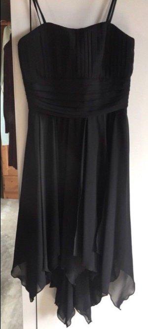 Robe chiffon noir