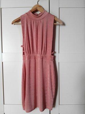 Boohoo Mini-jurk stoffig roze