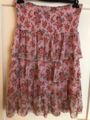 Best emilie Mini vestido rosa-rojo frambuesa Poliéster