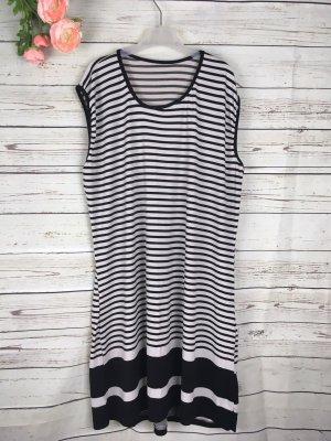 Midi Dress white-black
