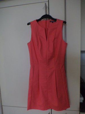 Kleid ärmellos in apricot von Tommy Hilfiger