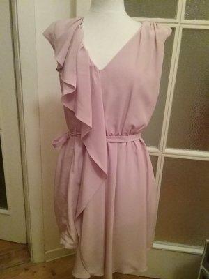 Kleid Altrosa mit V-Ausschnitt von Koton