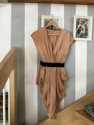 Kleid altrose mit Eingriffstaschen Größe Small
