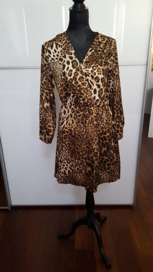 Kleid Animalprint Gr M