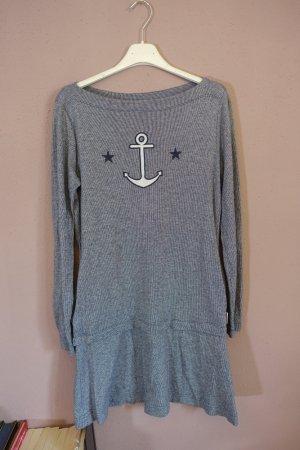 Kleid, Anker, Sterne, gestreift, maritim, See by Chloé, ungetragen, Sailor Dress