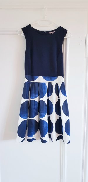 Anna Field A Line Dress white-dark blue