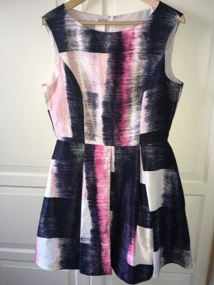 Kleid Anthropologie Alice Rose Cocktailkleid Gr. 42/44 M (US 12) Faltenrock Dress ungetragen wie Neu