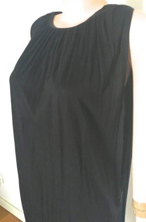 Armani Jeans A-lijn jurk zwart Viscose