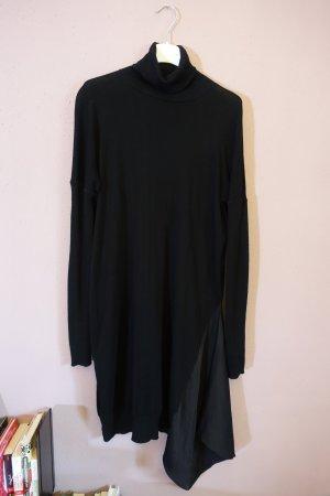 All Saints Robe à manches longues noir tissu mixte