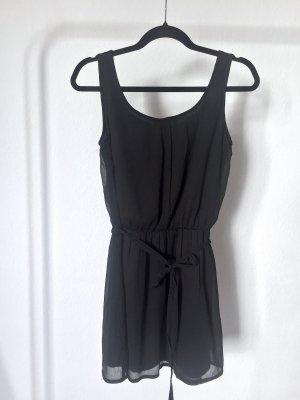 Kleid ATMOSPHERE chiffon black schwarz basic leicht