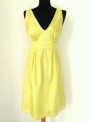 Kleid aus 100% Seide in Limette von Jessica Pure, Gr. 36