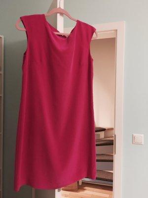 Kleid aus 100% Seide Rosa / Pink Große 36