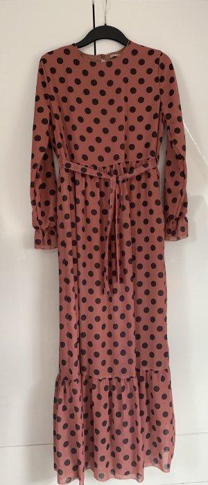 Modanisa Chiffon jurk veelkleurig