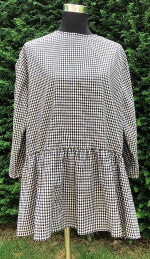 Kleid aus dickem, weichen Stoff mit Vichy-Karos