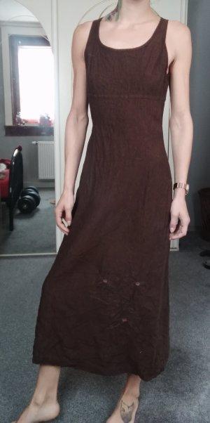 Dress In Maxi-jurk bruin
