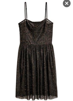 H&M Overgooier zwart-goud