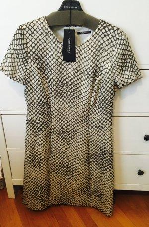 Kleid aus Seide von Strenesee in Schlangenoptik