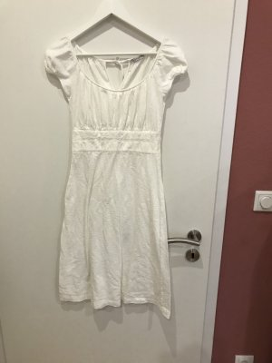 Empire Dress natural white cotton