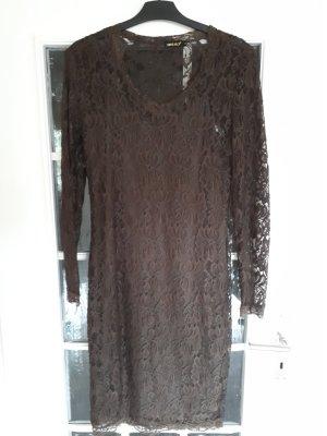 Ambika Vestido marrón oscuro-caqui