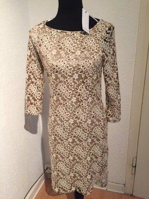 Vero Moda Midi-jurk lichtbruin-licht beige