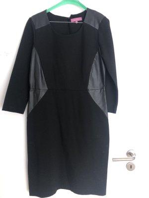Kleid aus Teilleder